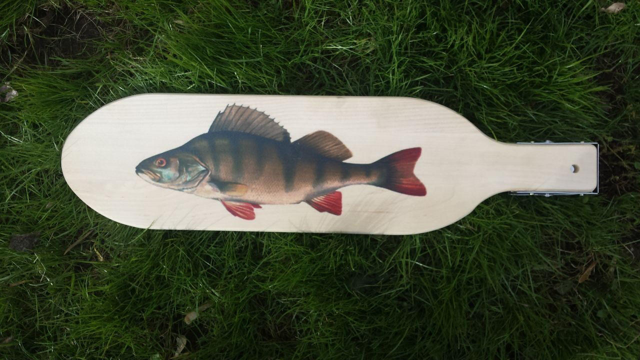 Доска для разделки рыбы с зажимом своими руками 19